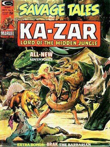 File:Savage Tales 6 Sept. 1, 1974.jpg