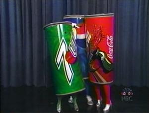 Coke and Pepsi in Love