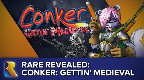 Rare Revealed Concept Showcase - Conker Gettin' Medieval