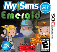 MySims Emerald Boxart (DS) (New!)