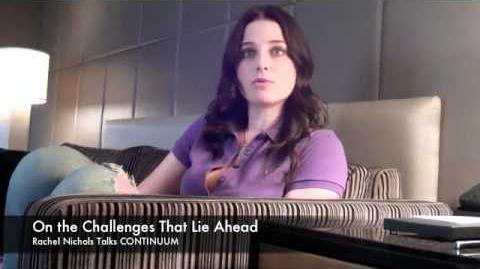 Rachel Nichols Talks CONTINUUM