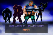 Contra Legacy of War Player Select Ray