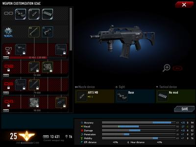 G36c customization