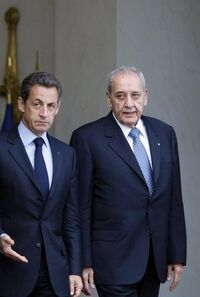 Sarkozy and kerkani