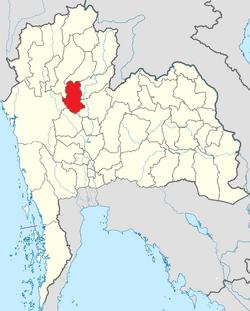 Thradda Chiangari location map.png