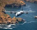 C-130 Hercules over Santa Cruz Island.jpg