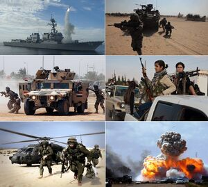 Iraqistan Civil War Collage