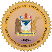Seal of the Royal Bureau of Investigation