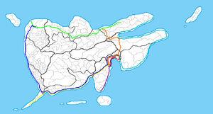 Rockall Train Network Train Lines