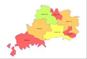 Bijan 1951 Electoral Districts