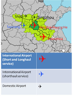 Airports serving the Donghai-Septopolis