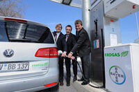 Biogas station germany