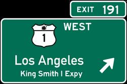 Smith I Expressway Exit Sign