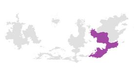 West Lanean Empire extent
