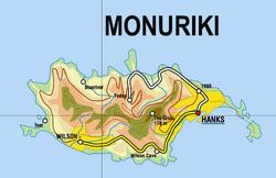 Monuriki relief map
