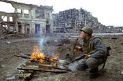 Sovier Russian in Grozny
