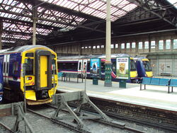 Edinburgh Waverly station, Edinburgh, Scotland