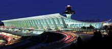 Dulles airport night-344x151