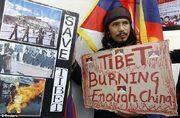 Free Tibet Protestor
