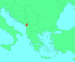 Location of Kamenia (Large)