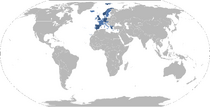 Map of the European Confederation (2034)