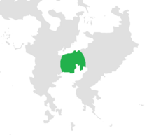Map of Hilux ca. 2000p