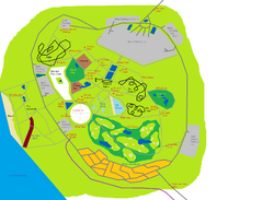Caribbean Playland map
