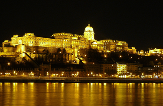 Palace of Gideon at night