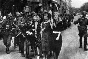 Riga (July 1941) German Soldiers