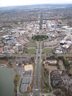 Canberra central