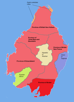 Location of Broker in Colonial Albion (1762)
