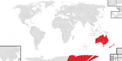 Location of Albury