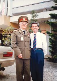 Trang Chup Long meets Vo Nguyen Giap