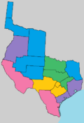 Linguistic map of Brazoria.png
