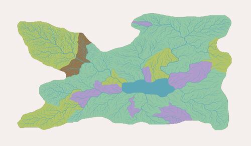 Valley of Eternal Rain map