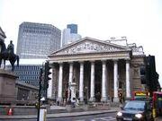 London Stock Exchange in the Merdiain