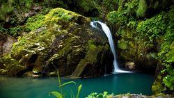 Waterfall in the Valley of Eternal Rain