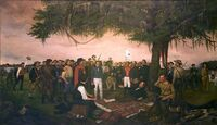Surrender of Santa Anna at San Jacinto