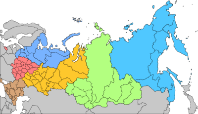 Military Districts of Soviet Russia - 2004