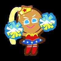 Cheerleader Cookie Halloween