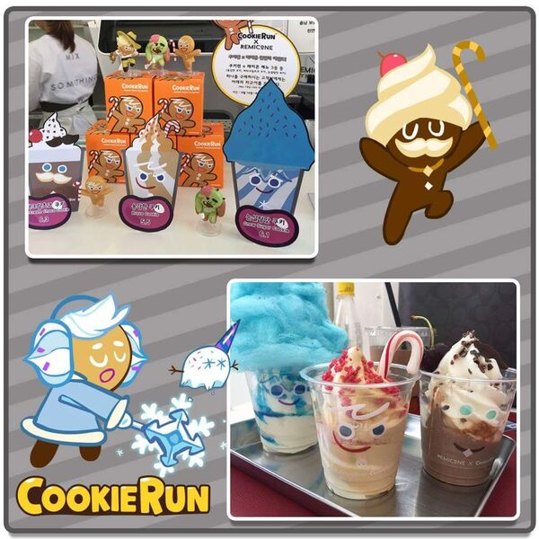 Remicone and Cookie Run