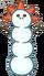Horned Worm Snowman