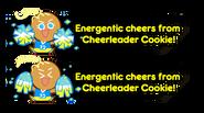 Play passive cheerleader