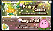 Fairy Cookie Newsletter