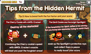 Hidden Hermit Tip 2