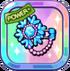 Shiny Crystal Snowflake Brooch