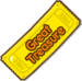 Great Treasure Chest Ticket