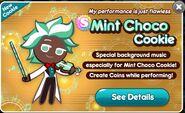 Mint Choco Release