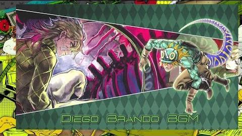 JoJo's Bizarre Adventure Eyes of Heaven OST - Diego Brando (Scary Monsters) Battle BGM