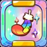 Angel Cookie's Rainbow Feather